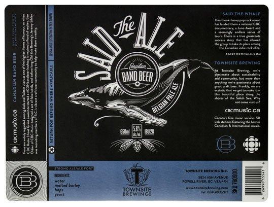 said-the-ale-label