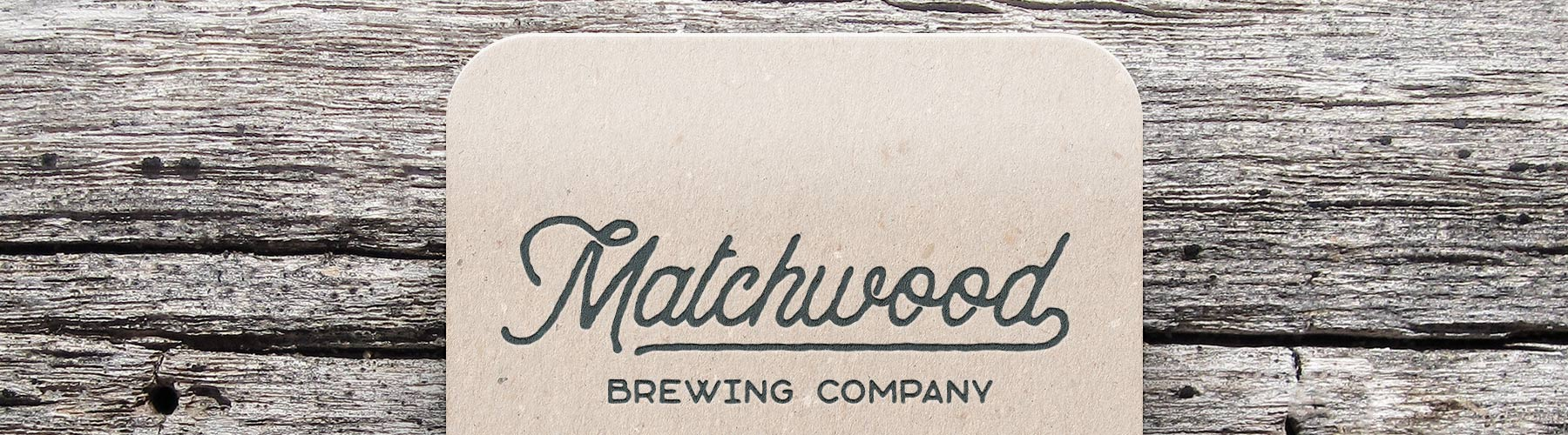Matchwood Brewing Coaster