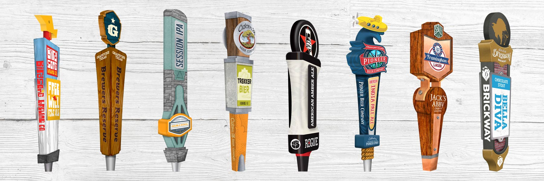 Brewery Tap Handle Design