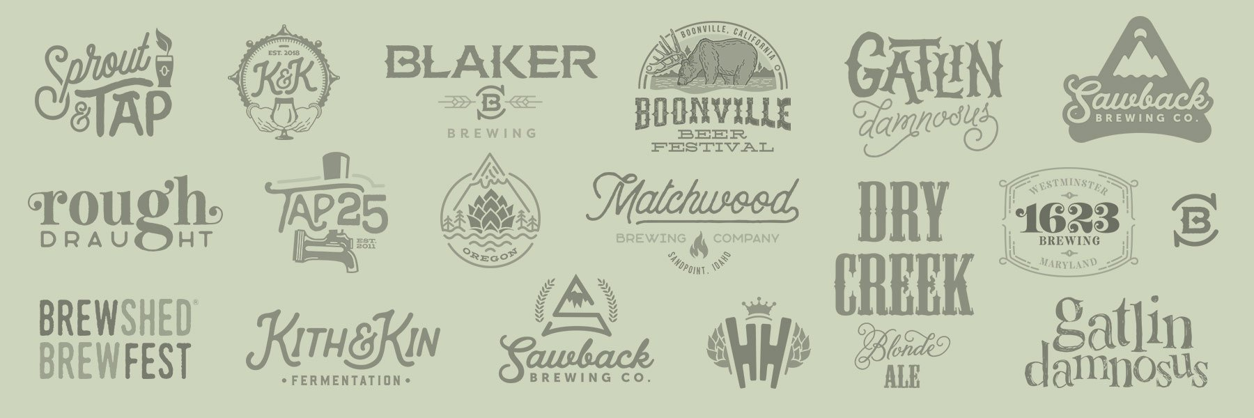 Brewery Logo Designs