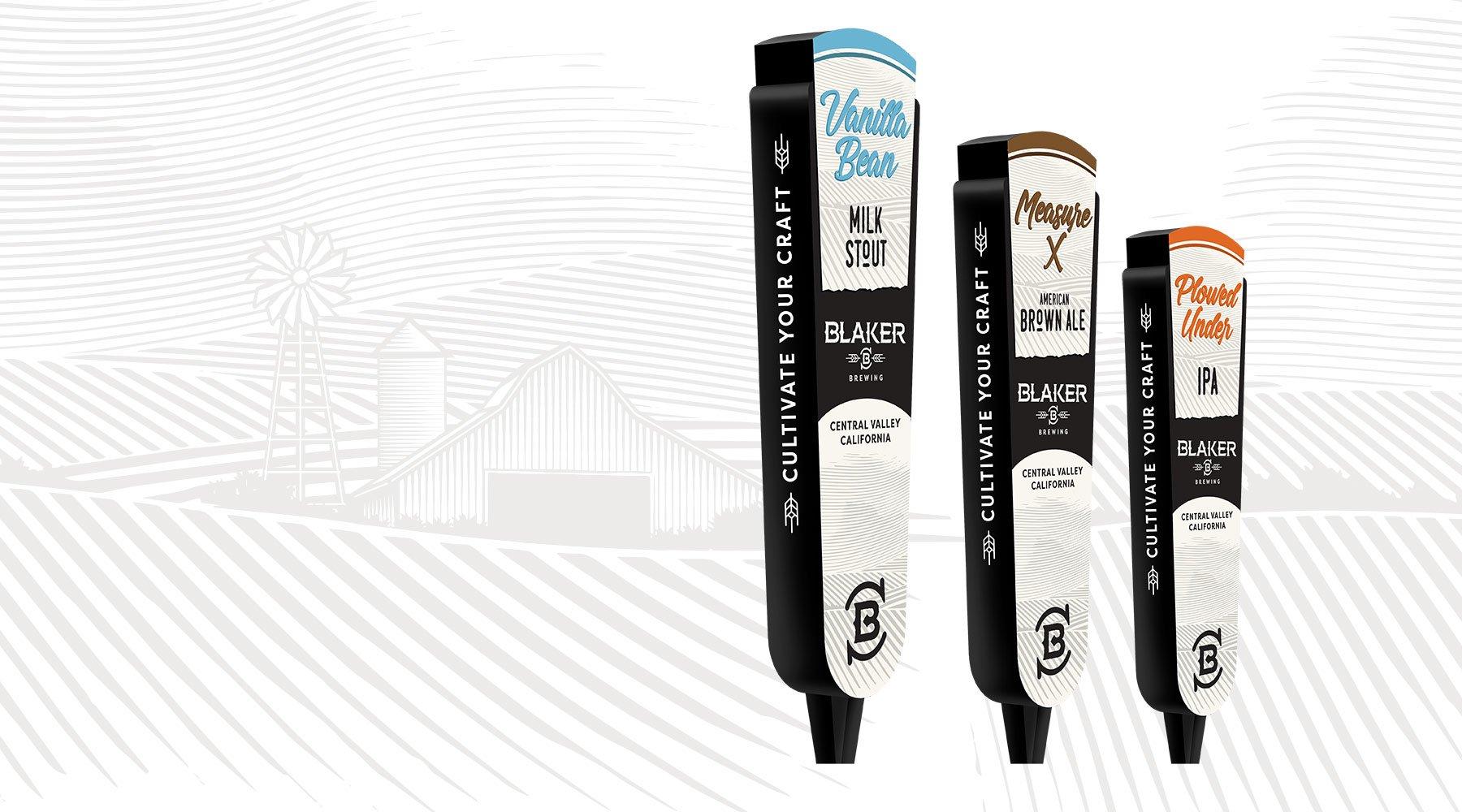 Blaker Brewing Tap Handles