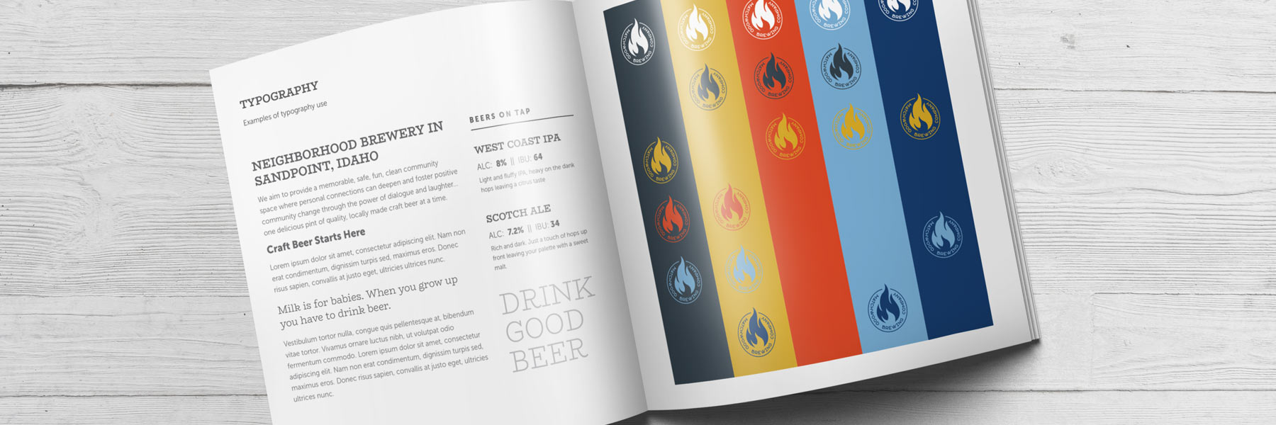 Brewery Brand Guidelines Book