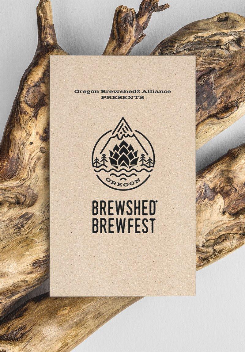 Brewshed Brewfest Card