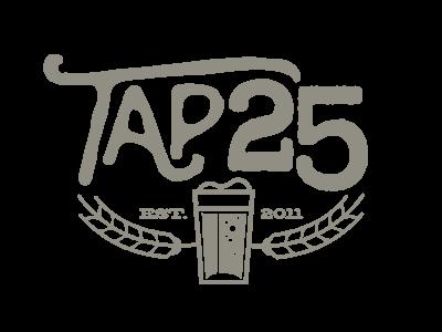 Tap 25 Logo Concept