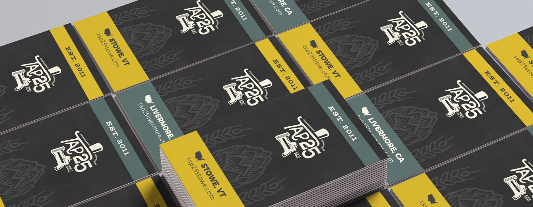 Tap 25 business cards