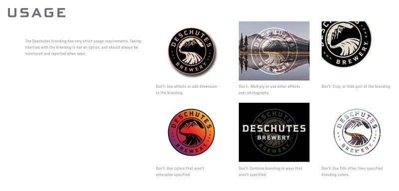 Deschutes Brewery Branding Guidelines