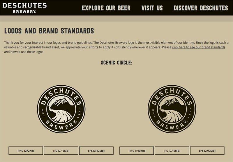 Deschutes Brewery Branding Kit
